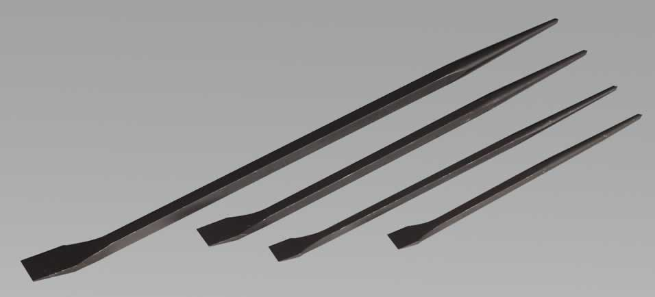 Prybar Set 4pc 300, 410, 460, 610mm