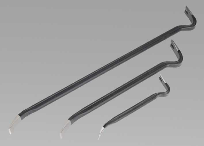 Wrecking Bar Set 3pc Heavy-Duty