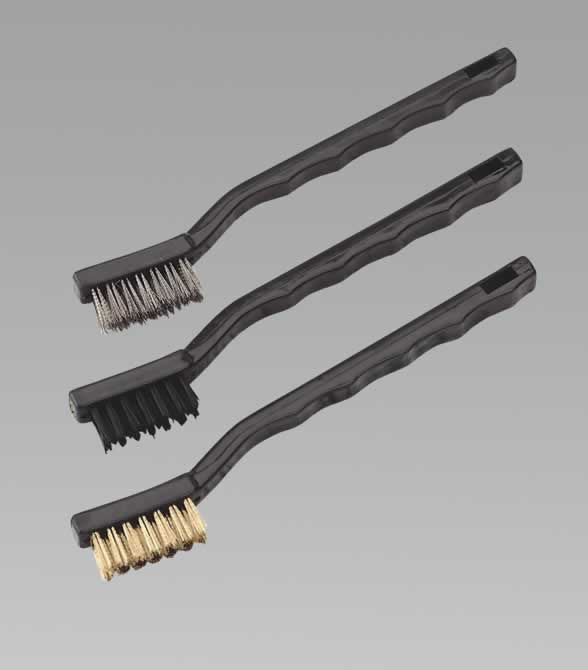 Brush Set 3pc Miniature