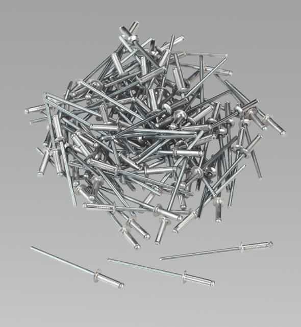 Aluminium Rivets 2.4 x 8.9mm Pack of 100