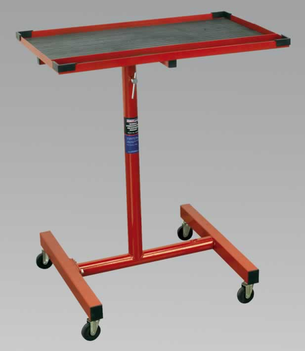 Mobile Workstation Adjustable Height