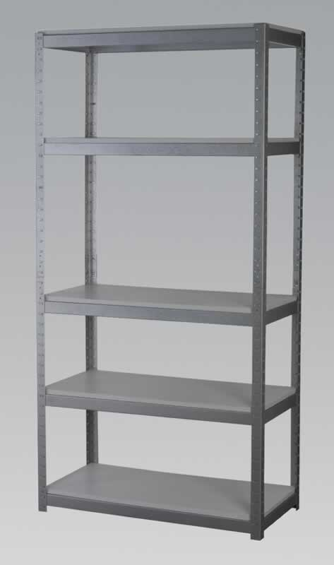 Racking Unit with 5 Shelves 500kg Capacity Per Level