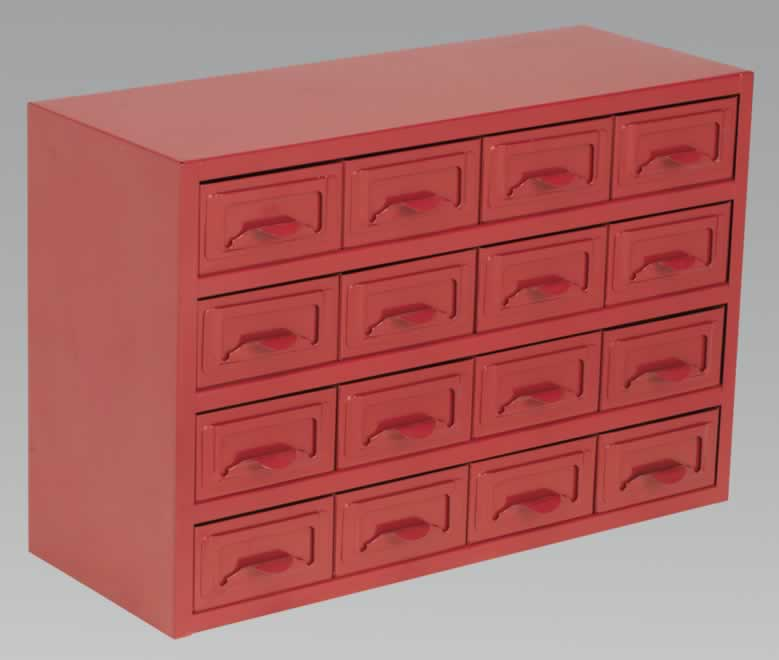 Metal Cabinet Box 16 Drawer