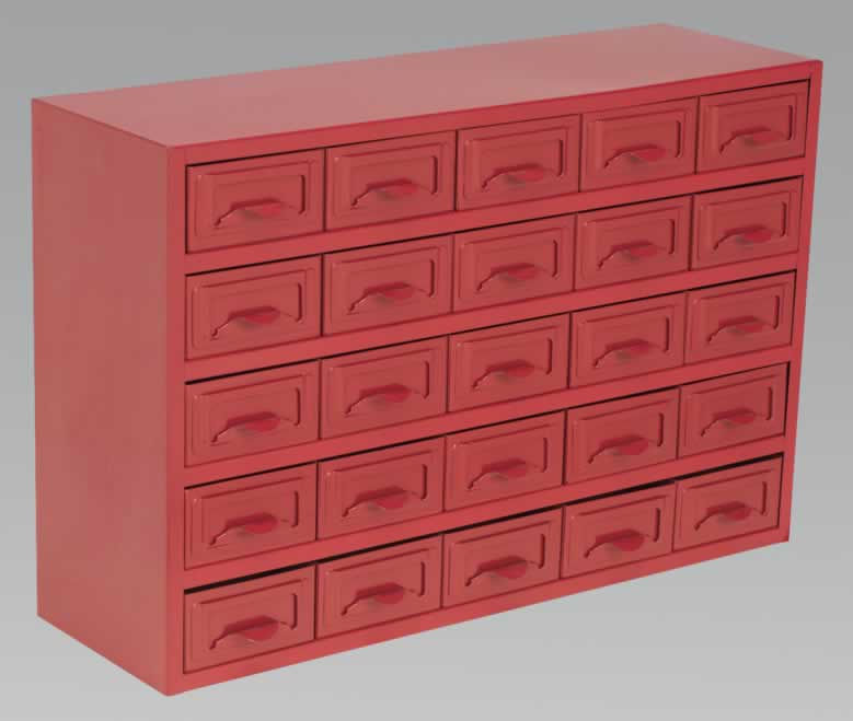 Metal Cabinet Box 25 Drawer