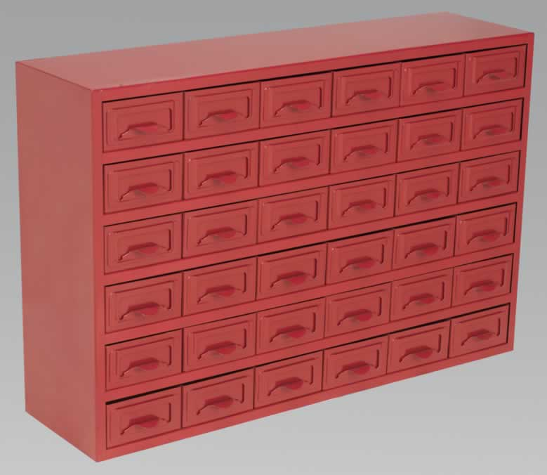 Metal Cabinet Box 36 Drawer  (AHA)