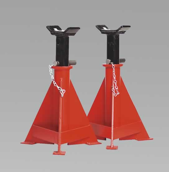 Axle Stands 15tonne Capacity per Stand 30tonne per Pair   (G)