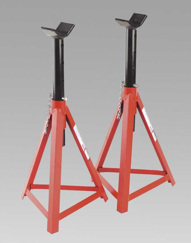 Axle Stands 2.5tonne Capacity per Stand 5tonne per Pair Medium Height