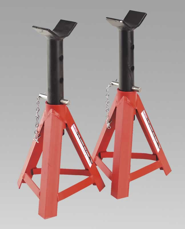 Axle Stands 5tonne Capacity per Stand 10tonne per Pair