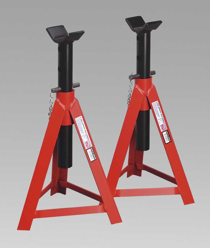 Axle Stands 5tonne Capacity per Stand 10tonne per Pair Medium Height