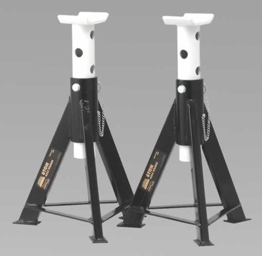 Axle Stands 6tonne Capacity per Stand 12tonne per Pair