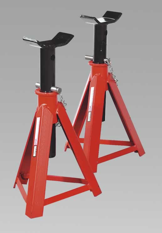 Axle Stands 7.5tonne Capacity per Stand 15tonne per Pair Medium Height