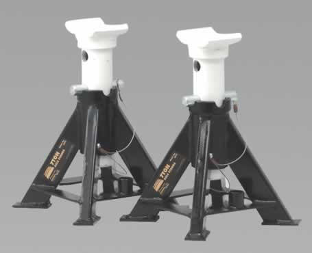 Axle Stands 7tonne Capacity per Stand 14tonne per Pair Short