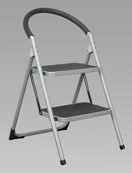 Step Stool 2-Tread 150kg Capacity