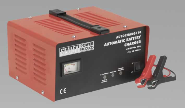 Battery Charger Electronic 10Amp 6/12V 230V