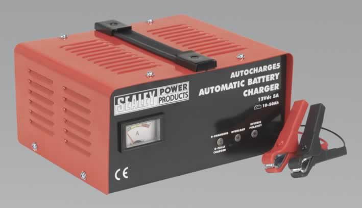 Battery Charger Electronic 5Amp 12V 230V