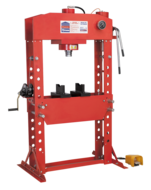 Air/Hydraulic Press Premier 75tonne Floor Type with Foot Pedal