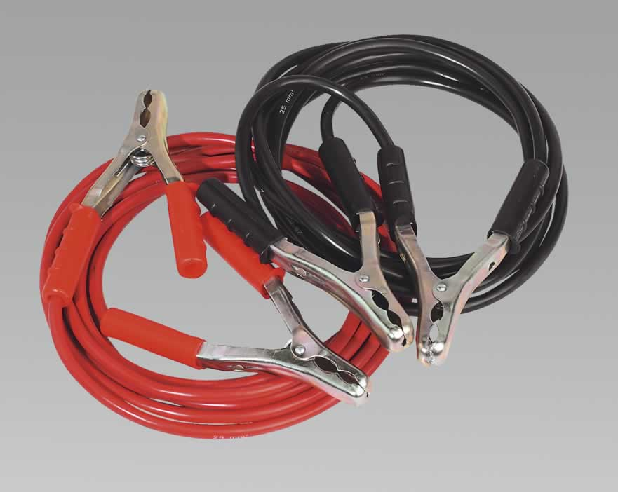 Booster Cables 5.0mtr 600Amp 25mm²