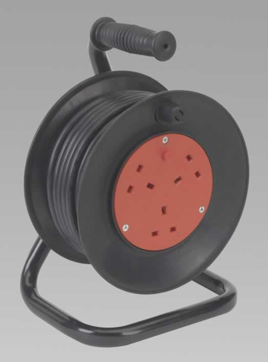 Cable Reel 15mtr 3 Core 230V Thermal Trip