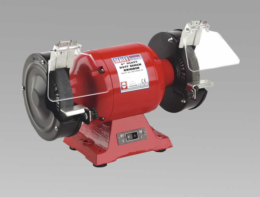 Bench Grinder 150mm 450W/230V Heavy-Duty