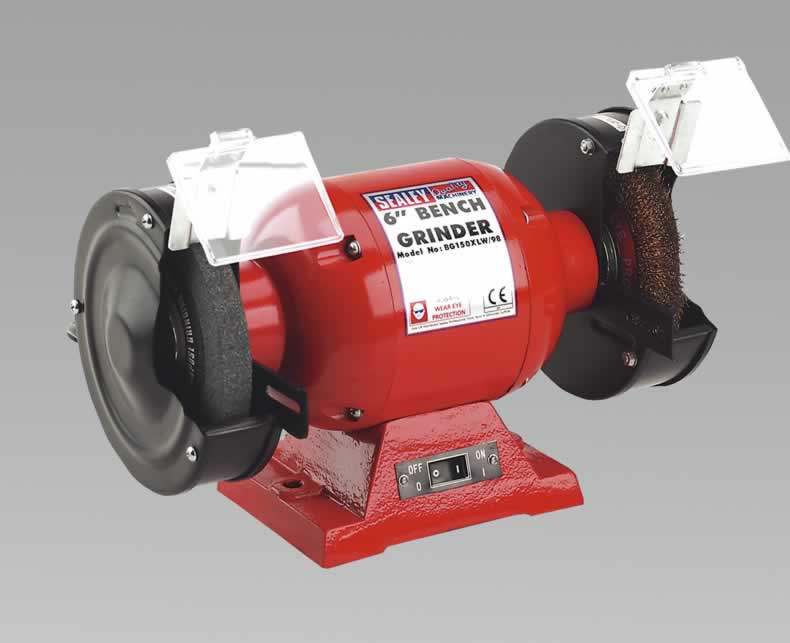 Bench Grinder 150mm with Wire Wheel 370W/230V
