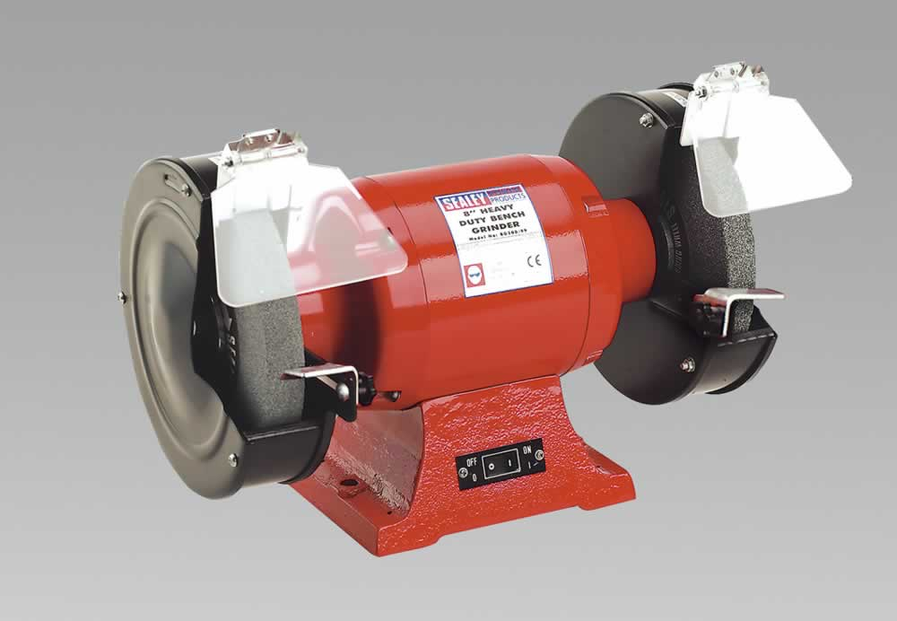 Bench Grinder 200mm 600W/230V Heavy-Duty