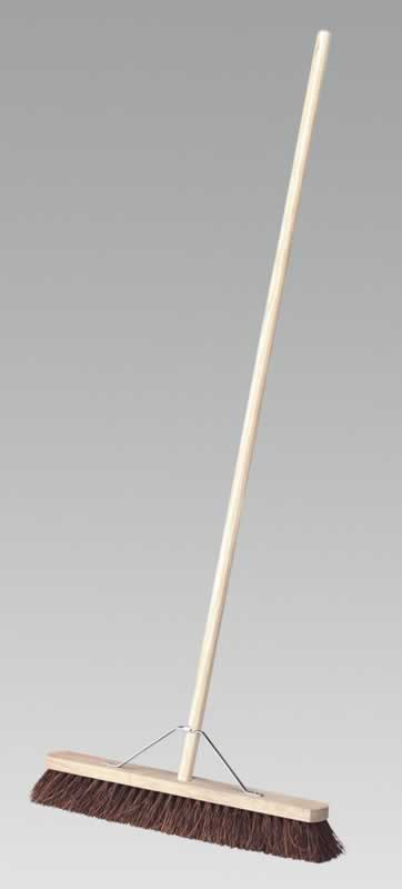 "Broom 24"" Stiff/Hard Bristle"