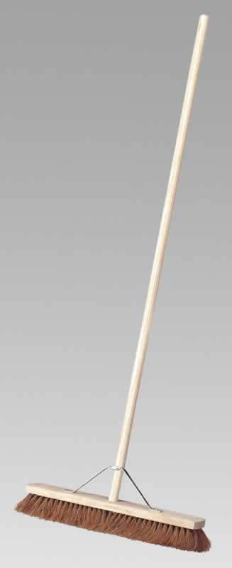 "Broom 24"" Soft Bristle"