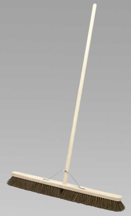 "Broom 36"" Stiff/Hard Bristle"