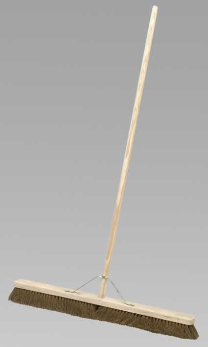 "Broom 36"" Soft Bristle"