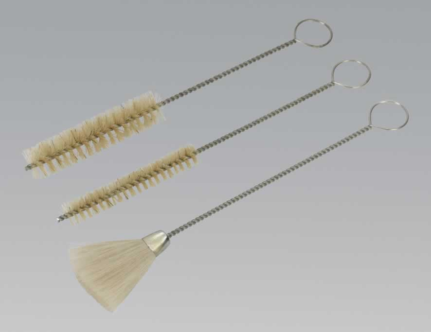 Spray Gun Cleaning Brush Set 3pc