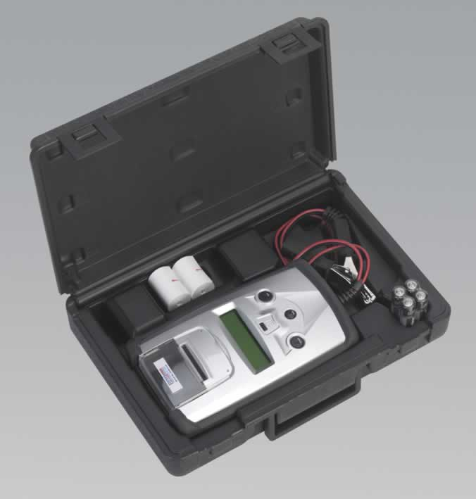 Digital Battery Tester with Printer 6-12V     (AHA)
