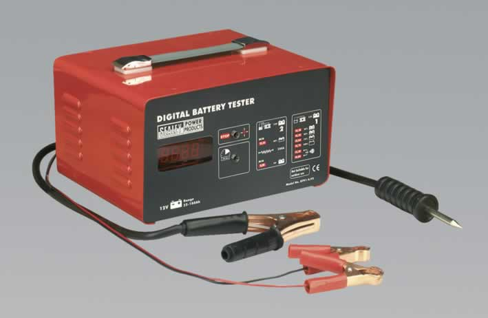Electronic Battery Tester 3 Function 12V