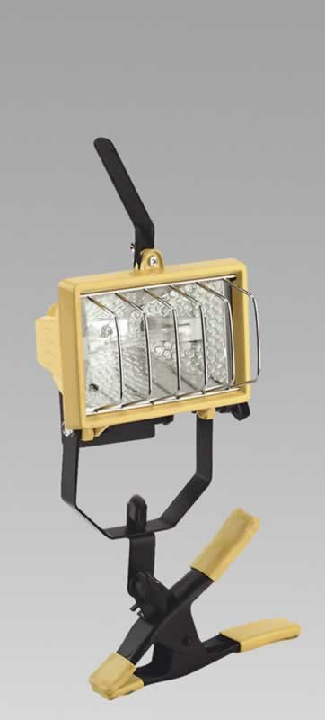 Portable Floodlight with Gripper 150W/230V