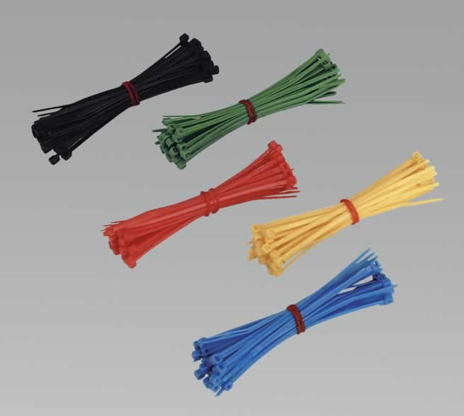 Cable Ties 100 x 2.4mm Pack of 200