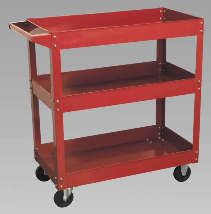 Trolley 3-Level Heavy-Duty
