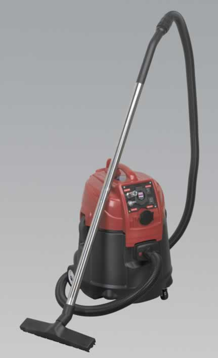 Combination Dust-Free/Wet & Dry Vacuum System Air/Electric - 55ltr
