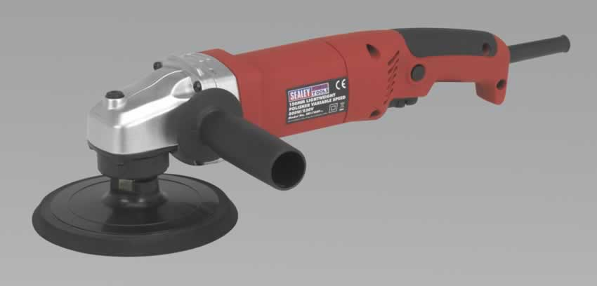 Polisher 150mm 800W/230V Lightweight