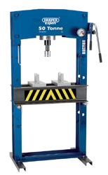 EXPERT 50 TONNE HYDRAULIC FLOOR PRESS