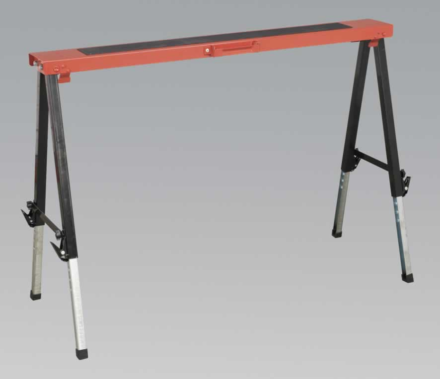 Fold Down Trestle Adjustable Legs