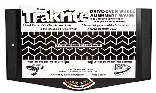 Trakrite Wheel Alignment Gauge