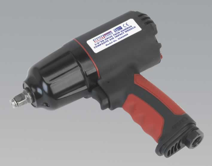 "Generation Series Composite Air Impact Wrench 3/8""Sq Drive Twin Hammer"
