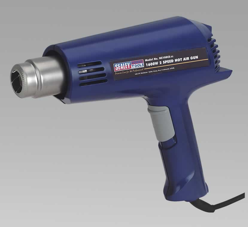 Hot Air Gun 1600W 2-Speed 300/500ºC
