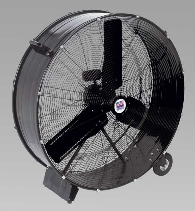 "Industrial High Velocity Drum Fan 36"" 230V"
