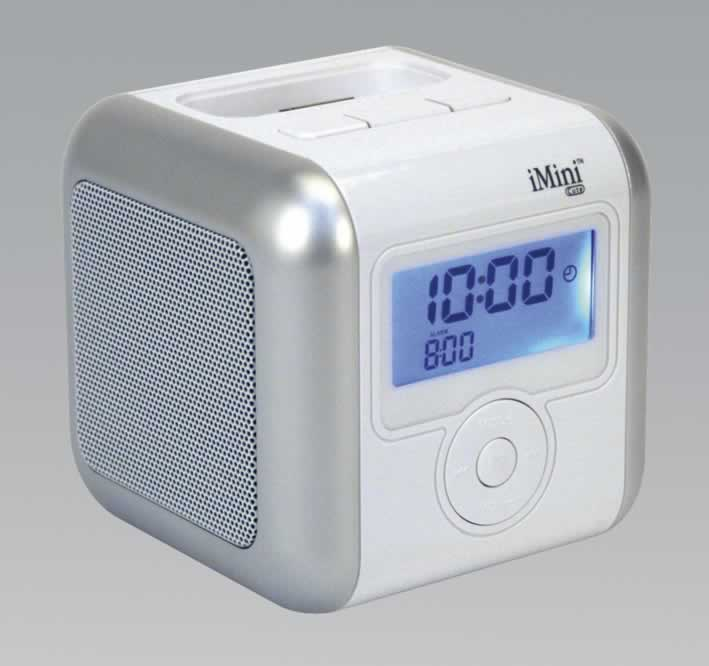 iPod/MP3 Docking Station with Clock/Radio Alarm
