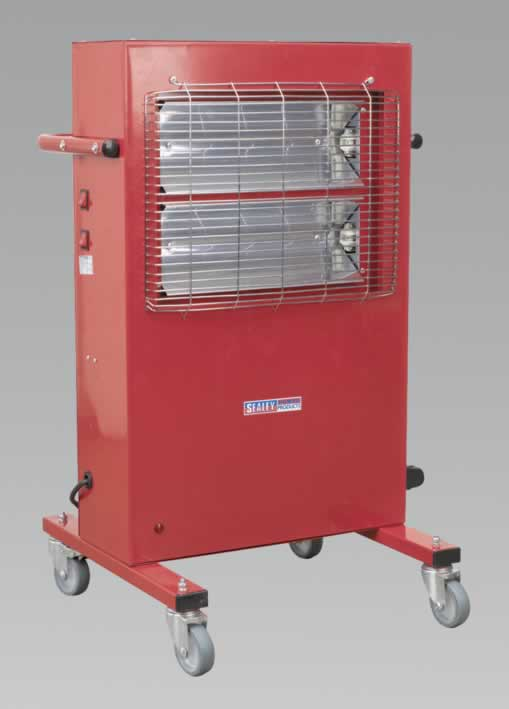 Infrared Cabinet Heater 1.5/3.0kW 230V