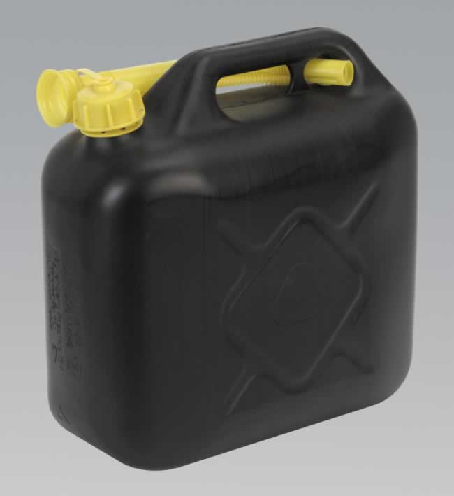 Fuel Can 10ltr - Black