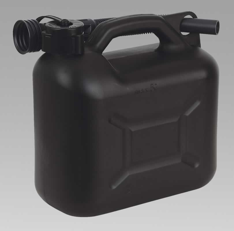 Fuel Can 5ltr - Black