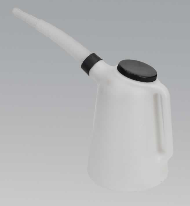 Oil Container with Lid & Flexi-Spout 5ltr