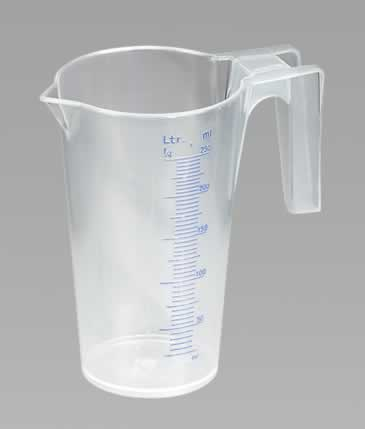 Measuring Jug Translucent 0.25ltr