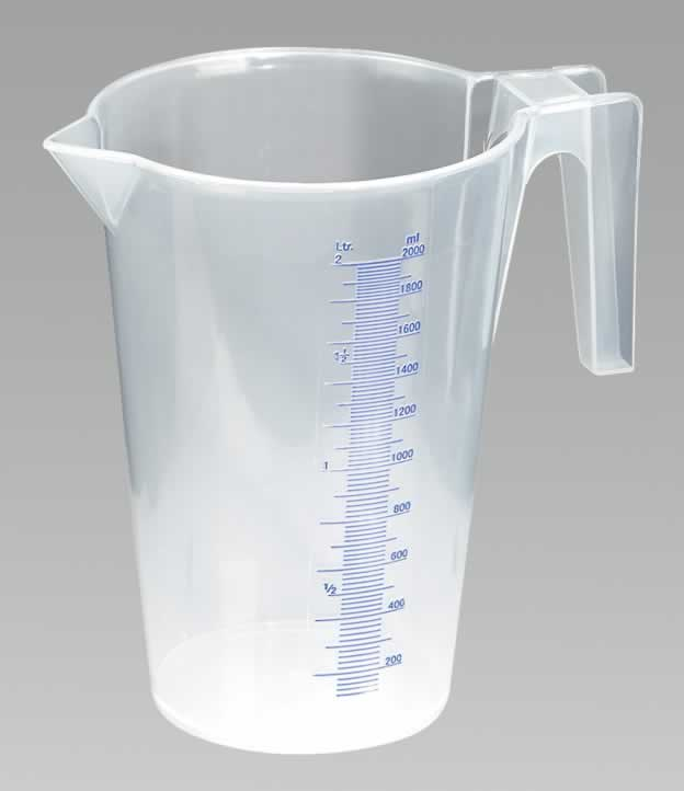 Measuring Jug Translucent 2.0ltr  (6-20)